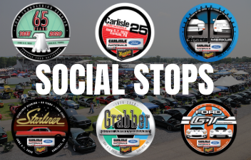Collect 2020 Ford Nationals Stickers Through Social Stops